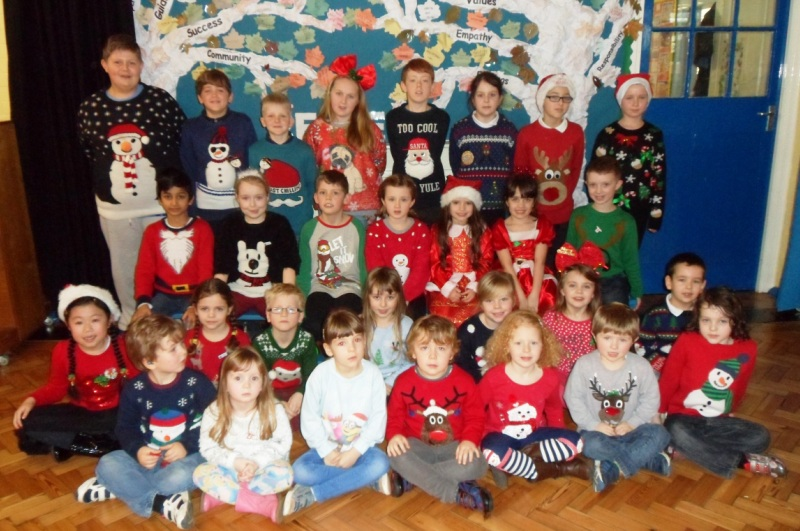 Christmas Jumpers at Trinity Road 2015